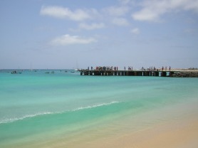 Capo Verde - Sal - Spiaggia di SMaria